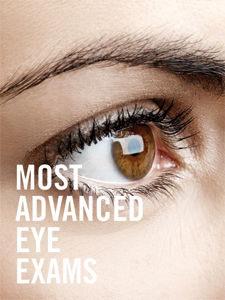 Most Advanced Eye exams